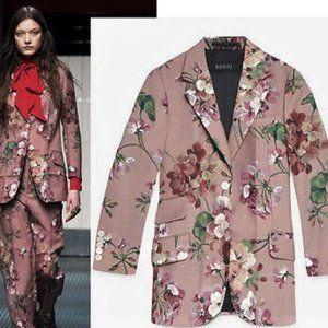Famous GUCCI Blooms floral blazer jacket